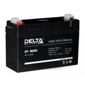 DT 4035 Аккумулятор Delta. Номинальная емкость 3.5 Ач.