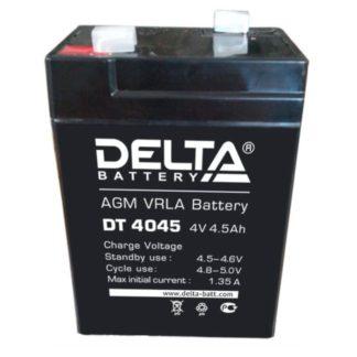 DT 4045 Аккумулятор Delta. Номинальная емкость 4.5 Ач.