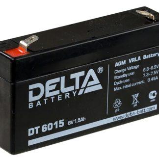 DT 6015 Аккумулятор Delta. Номинальная емкость 1.5 Ач.