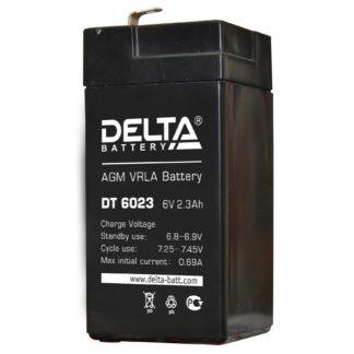 DT 6023 Аккумулятор Delta. Номинальная емкость 2.3 Ач.