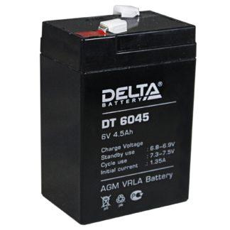 DT 6045 Аккумулятор Delta. Номинальная емкость 4.5 Ач.