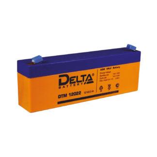 DTM 12022 Аккумулятор Delta. Номинальная емкость 2.2 Ач.
