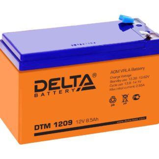 DTM 1209 Аккумулятор Delta. Номинальная емкость 9 Ач.