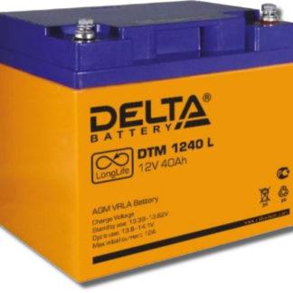 DTM 1240 L Аккумулятор Delta. Номинальная емкость 40 Ач.