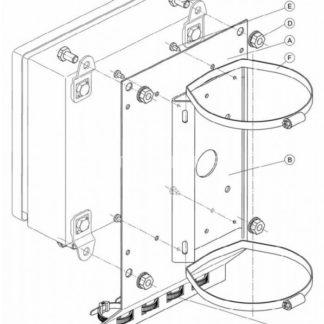 КС-2 Комплект крепления на коробку