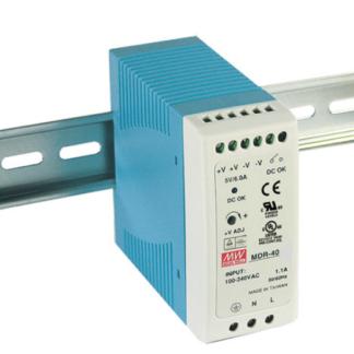 DRC-100А  — Блок питания Mean Well, 100 Вт, 12 В, с функцией UPS (ИБП)