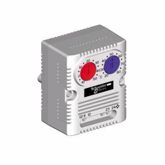 NSYCCOTHD — Термостат сдвоенный SСHNEIDER-ELECTRIC ClimaSys CC, ( NC 0 °C..+60 °C / NO 0 °C..+60 °C)