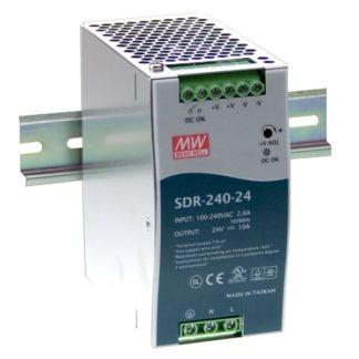 SDR-240-48  — Блок питания Mean Well, 240 Вт, 48 В