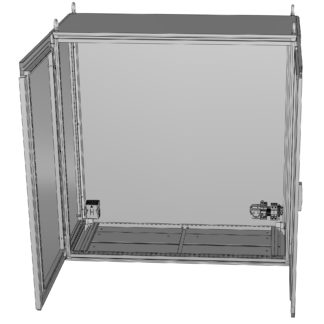 Термошкаф «Амадон» из нержавеющей стали ТША910-100.120.30-400-У1-AISI316L