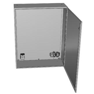 Термошкаф «Амадон» из нержавеющей стали ТША910-60.160.40-400-У1-AISI304-IP66