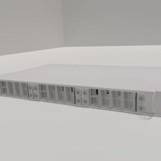 ШКОС-В-24 Оптический бокс (кросс) 19″ выдвижной