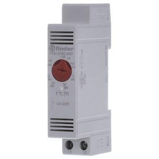 7T.81.0.000.2401 — Модульный щитовой термостат FINDER, ( NC -20°C..+40°C ) , 7T8100002401