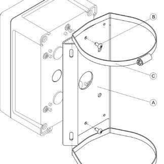 КС-1 Комплект крепления на коробку.