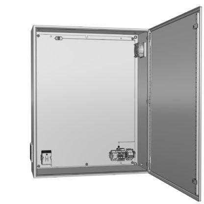 Термошкаф «Амадон» алюминиевый ТША712-100.130.30-500-У1
