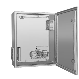 Термошкаф «Амадон» алюминиевый ТША712-60.60.25-150-У1