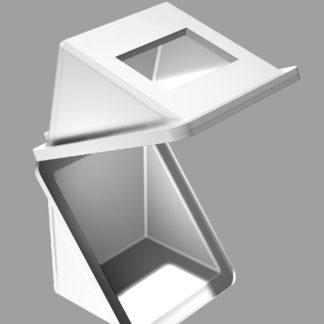 ШПТ-260-C10/2  Корпус типа 'Диабокс' двустенный. Размеры: 640х640х640мм.