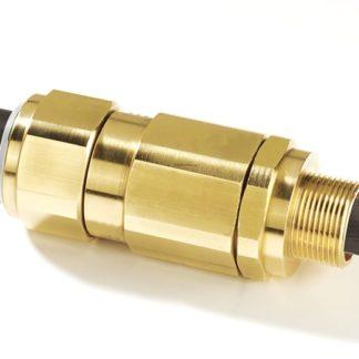 Взрывозащищенные кабельные вводы КВВ-х для небронированного кабеля, с сетчатой оплеткой