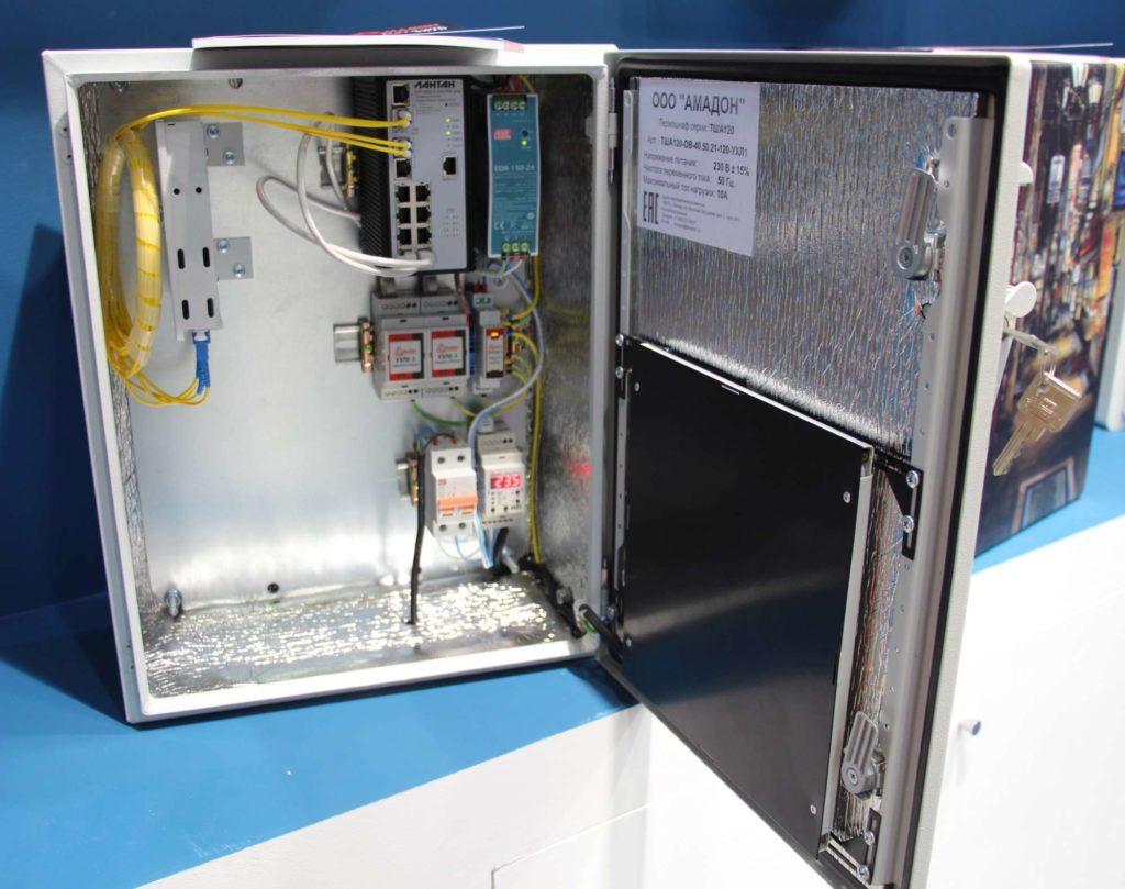 Термошкаф ТША120-OВ-40.50.21-120-УХЛ1 для систем IP видеонаблюдения С ГПА