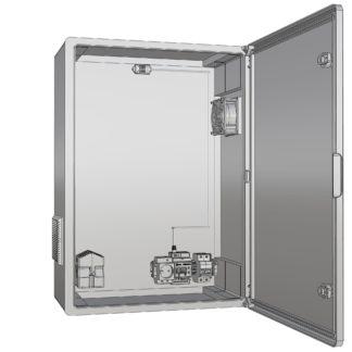 Термошкаф «Амадон» пластиковый ТША512П-60.80.26-300-У1