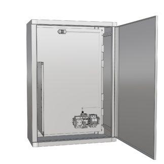 Термошкаф «Амадон»  пластиковый ТША520-40.60.26-120-У1
