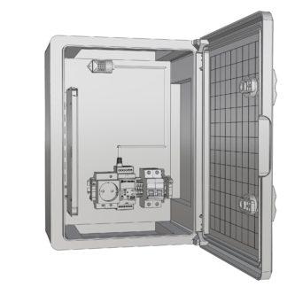Термошкаф «Амадон»  пластиковый ТША520-30.40.17-60-У1