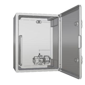 Термошкаф «Амадон»  пластиковый ТША520-30.40.22-80-У1