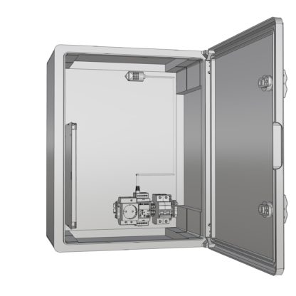 Термошкаф «Амадон»  пластиковый ТША520-40.60.20-120-У1