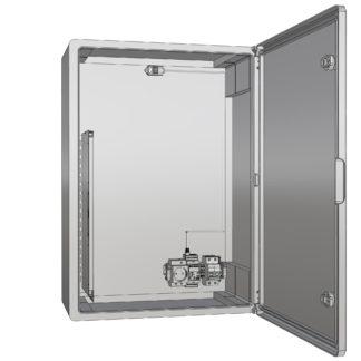 Термошкаф «Амадон»  пластиковый ТША520-60.80.26-240-У1