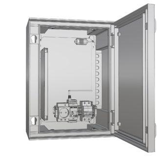 Термошкаф «Амадон»  пластиковый ТША520-33.43.20-80-У1