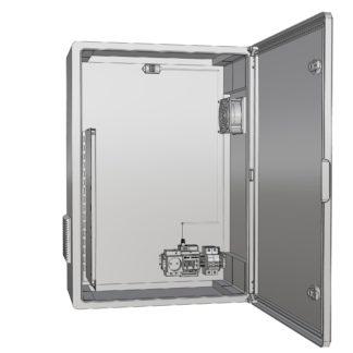 Термошкаф «Амадон» пластиковый ТША521П-25.35.15-60-У1