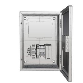 Термошкаф «Амадон» антивандальный ТША600-25.35.20-0  с ИБП в термоизолирующем корпусе для нужд Ростелекома
