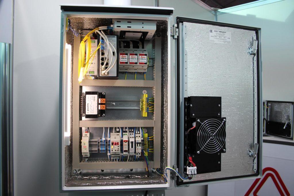 Термошкаф ТША120-ВЦ-04.11 для системы видеонаблюдения