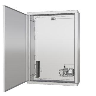 Термошкаф «Амадон» пластиковый ТША510П-40.60.26-150-У1