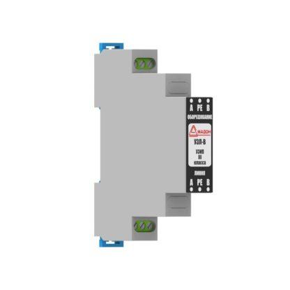 УЗЛ-В — Устройство защиты линии видеосигнала с симметричным кабелем