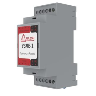 УЗИП в линиях Ethernet без PoE 100Мбит/с УЗЛЕ-1