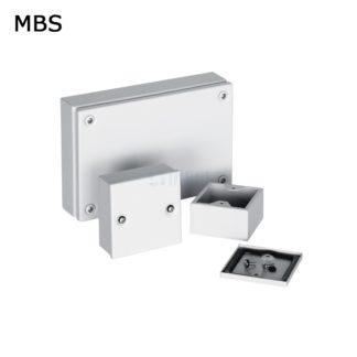Коробка из листовой стали без монтажной панели MBS 15.15.06