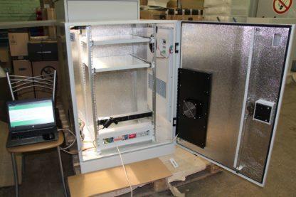 Термошкаф ТША429-80.100-18U.60-540-O1500.K24 с мониторингом на базе Netping