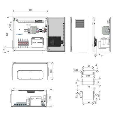 Термошкаф ТША122-60.60.30-180-У1-01219