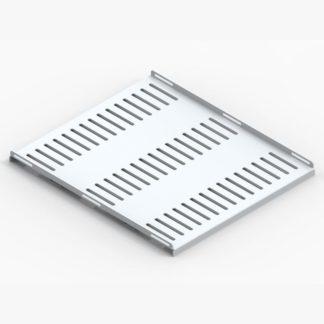 Полка усиленная для аккумуляторов ПУА-570, 19″-дюймовая