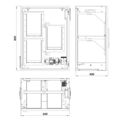 Термошкаф «Амадон» ТША112-УИБП-60.80.40-300-У1