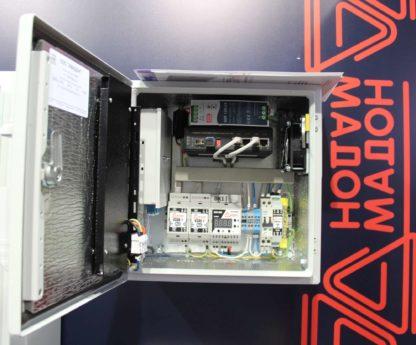 Термошкаф ТША121-ВЦ221-ХХ для систем видеонаблюдения ( металлический, на 2 видеокамеры, без АКБ )