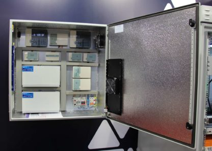 Термошкаф ТША122-ПСУ195 для оборудования системы ОПС «Рубеж»