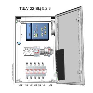 Термошкаф ТША122-ВЦ-5.2.3-CI2 для систем видеонаблюдения ( металлический, на 5 видеокамер, без АКБ )
