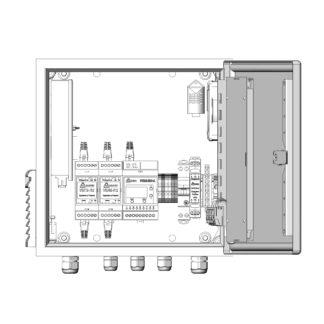 Термошкаф ТША121-ВЦ221 для систем видеонаблюдения ( металлический, на 2 видеокамеры, без АКБ, без коммутатора )