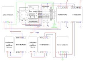 Термошкаф ТША118-55.100.50-O400-19219 - схема