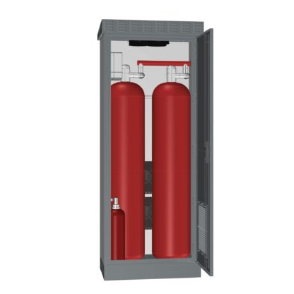 Термошкаф ТША122-ГТ-ХХХ для оборудования пожаротушения газовым веществом (ГОТВ)