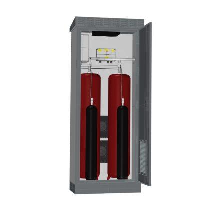 Термошкаф ТША122-ВТ-ХХХ для оборудования пожаротушения водой