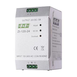 Блок питания F&F (ФиФ) ZI-120-24, 120 Вт, 24 В
