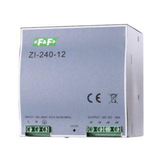 Блок питания F&F (ФиФ) ZI-240-12, 240 Вт, 12 В