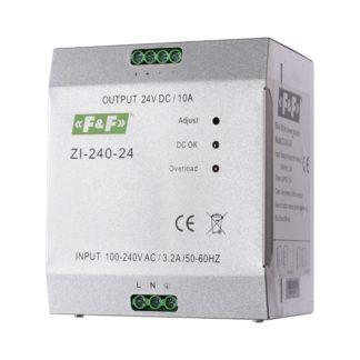 Блок питания F&F (ФиФ) ZI-240-24, 240 Вт, 24 В